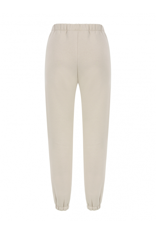 MOON High Waist Sweatpants (Light Sand)