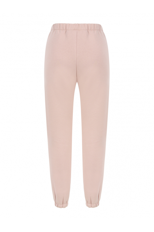 MOON High Waist Sweatpants (Faded Pink)