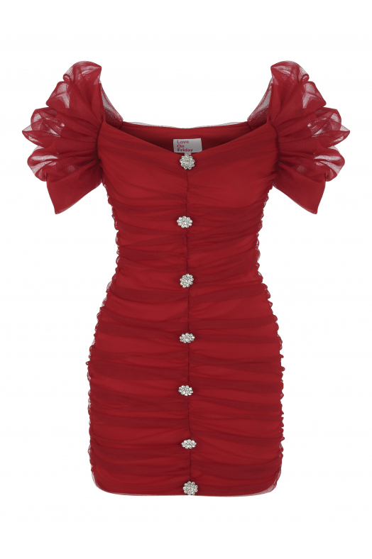 BELLINI Dress (Red)