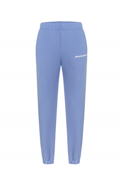 SUNSET Sweatpants (Deep Sky Blue)