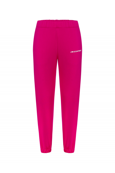 SUNSET Sweatpants (Fuscia)