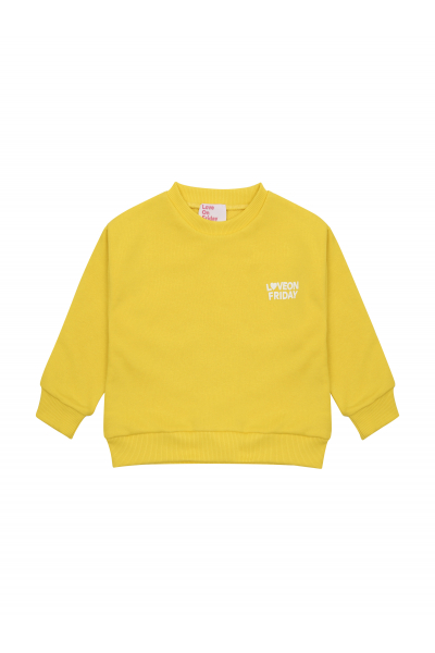 RAINBOW Kids Hoodie (Pineapple Yellow)