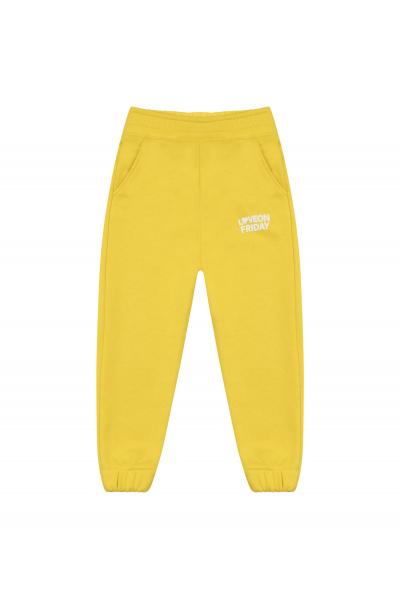 RAINBOW Kids Sweatpants (Pineapple Yellow)
