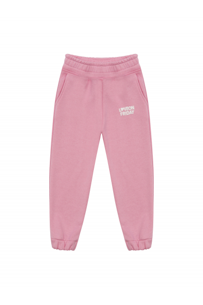 RAINBOW Kids Sweatpants (Light Pink)