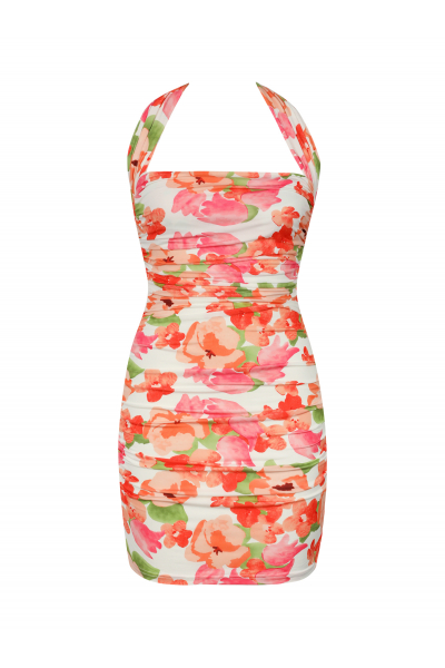 LEILA Dress in Sunset Floral