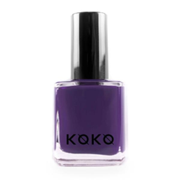 Koyu Mor Koko Oje 135 Violets Are Blue