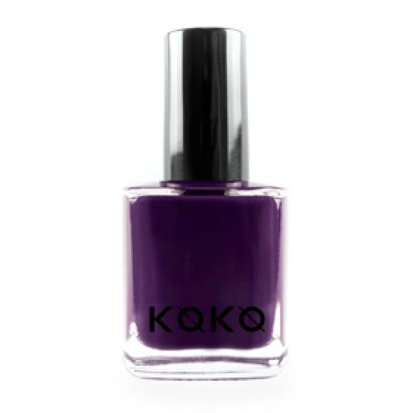 Koko Naıl Koyu Mor Koko Oje 333 #Fashionista