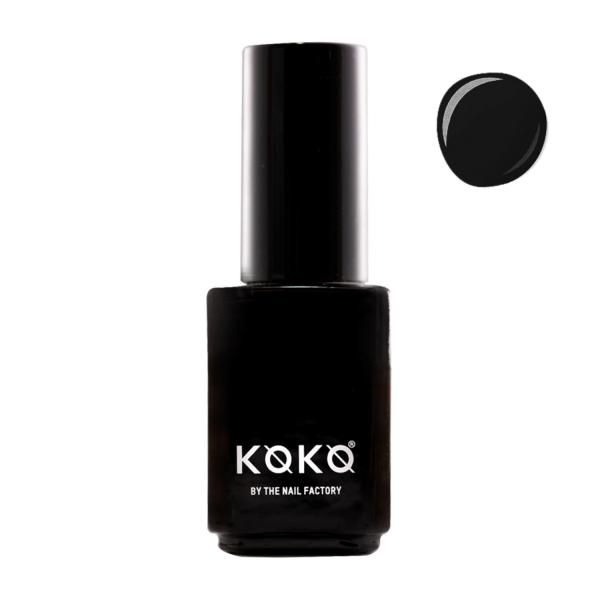 Koko Naıl Siyah Kalıcı Oje Mamu Najjat 1