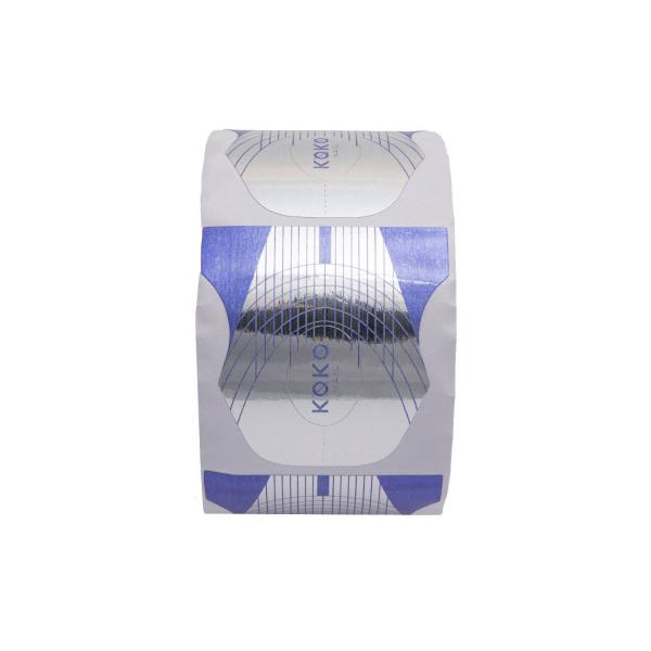 Koko Naıl Protez Tırnak Şablonu ( 500 Adet ) Mavi