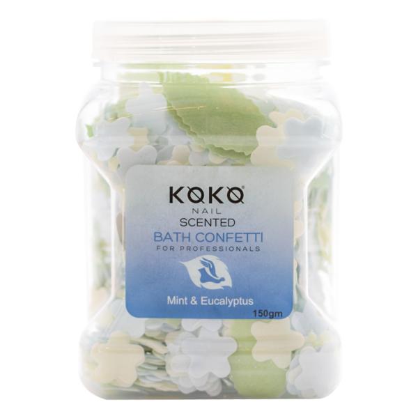 Koko Naıl Kokulu Banyo Konfeti Nane & Okaliptüs 150gr