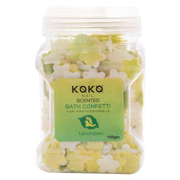 Koko Naıl Kokulu Banyo Konfeti Limon Otu 150gr