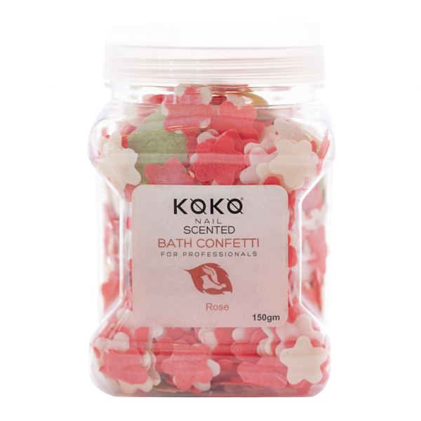 Koko Naıl Kokulu Banyo Konfeti Gül 150gr