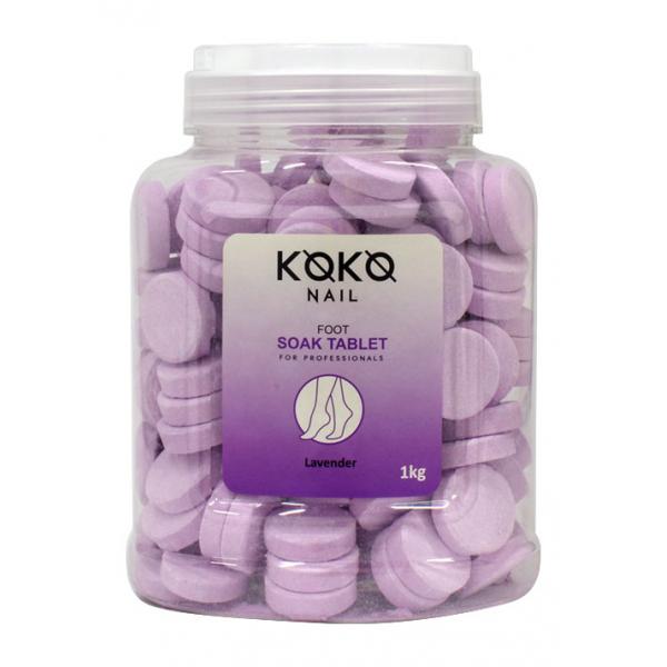 Koko Naıl Pedikür Suda Bekletme Tablet Lavanta 700gr