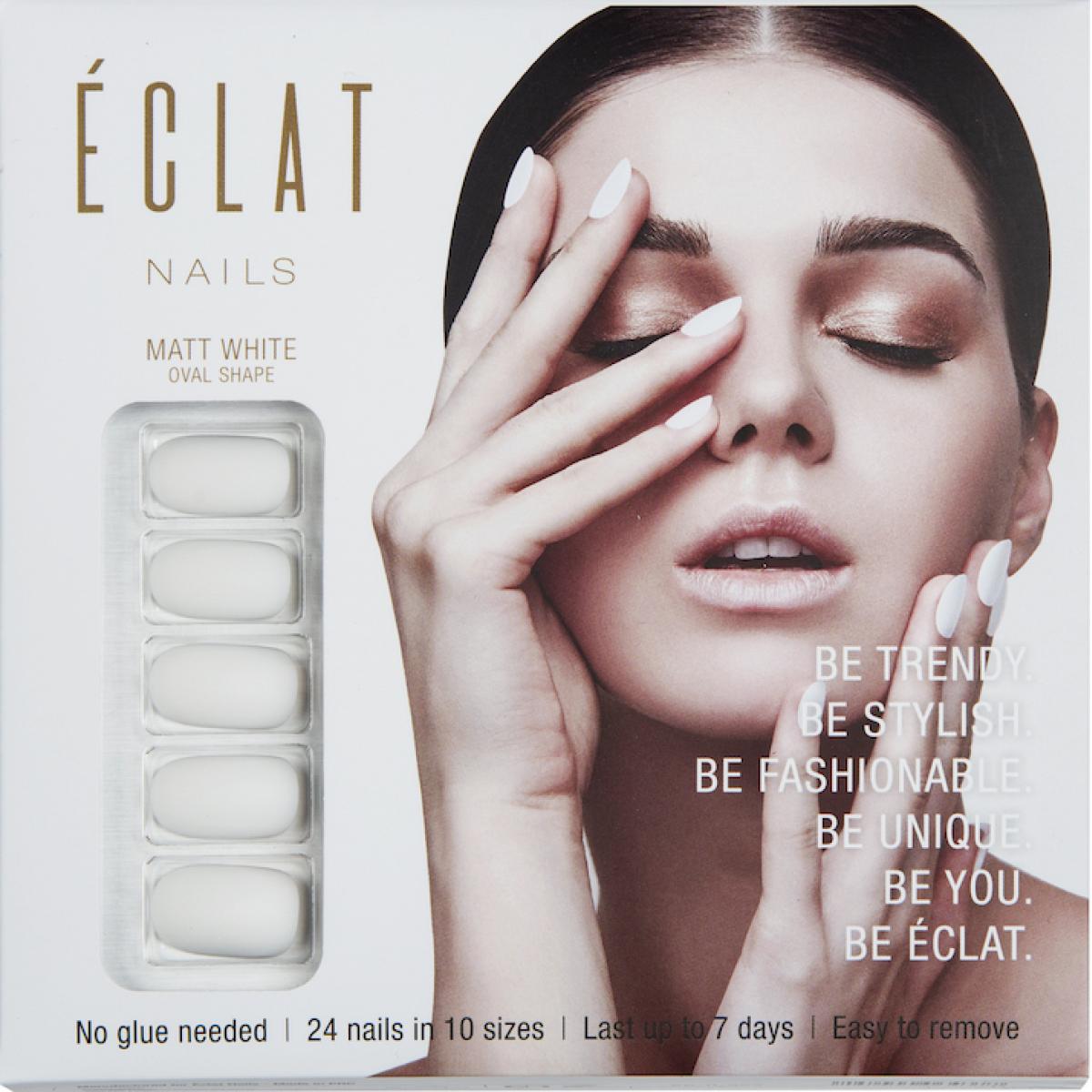 Eclat Takma Tırnak ( Mat Beyaz )