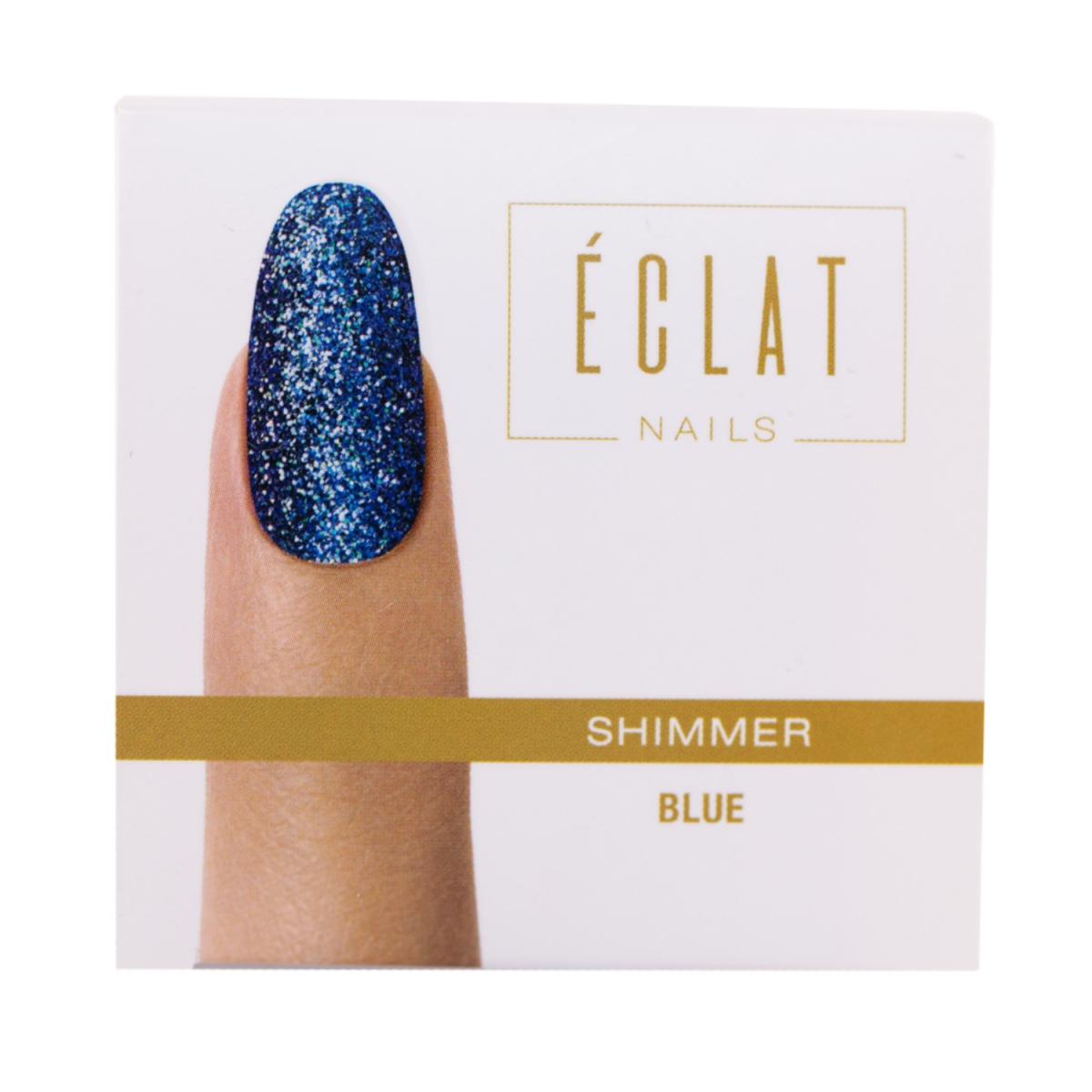 Eclat Nails Tırnak Simi ( Shimmer Blue ) 5gr