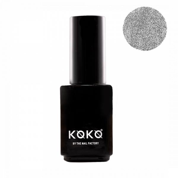 Koko Naıl Gümüş Simli Kalıcı Oje Cinderella Story 65