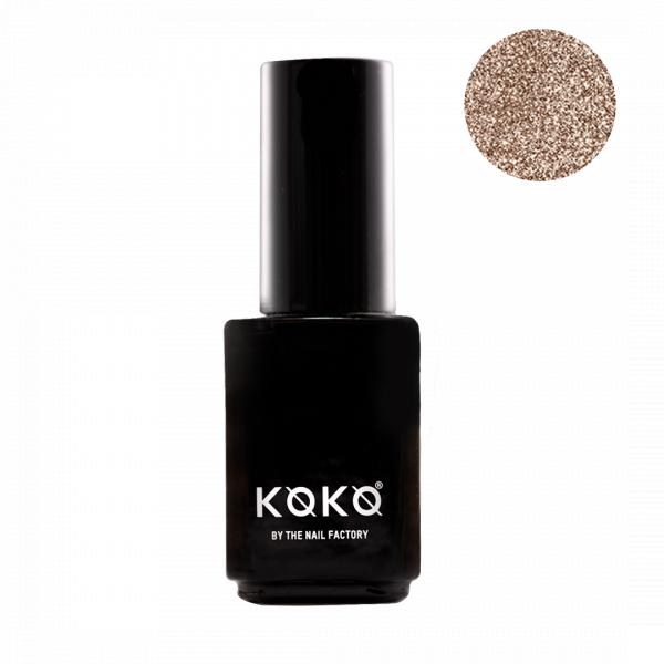 Koko Naıl Gold Simli Kalıcı Oje Golden Kiss 66