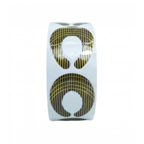 Koko Naıl Protez Tırnak Şablonu ( 500 Adet ) Gold