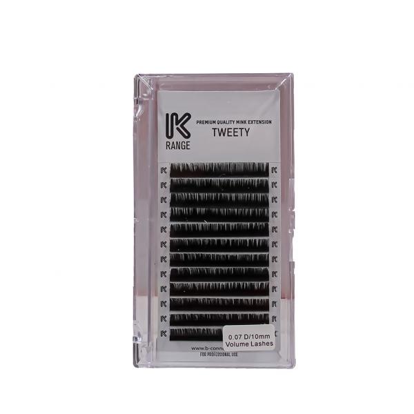 Koko Naıl İpek Kirpik Vizon Dalgalı D 0.07 D/10mm