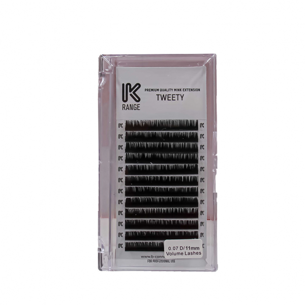 Koko Naıl İpek Kirpik Vizon Dalgalı D 0.07 D/11mm