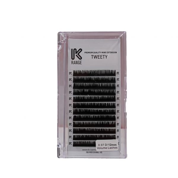 İpek Kirpik Vizon Dalgalı D 0.07 D/12mm