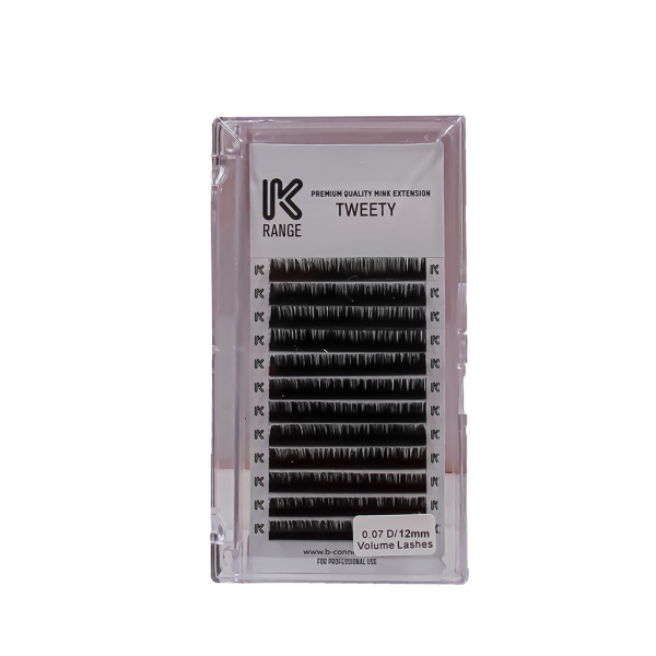 Koko Naıl İpek Kirpik Vizon Dalgalı D 0.07 D/12mm