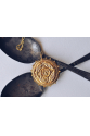 Antik Arı Madalyon Kolye