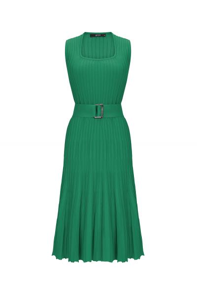 Waisted Dress Green