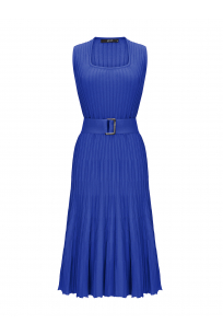 Waisted Dress Blue