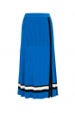 Strip Skirt Blue