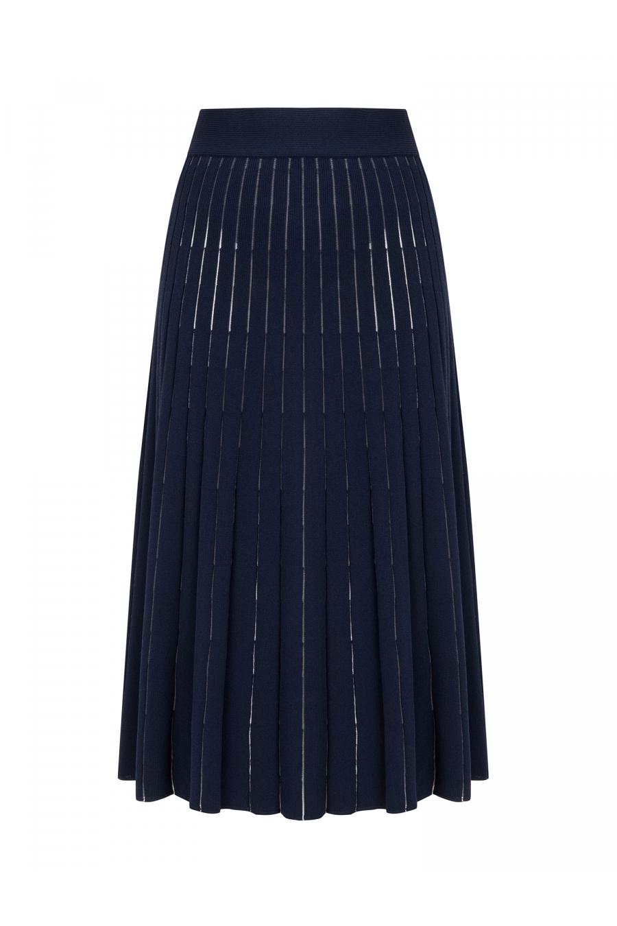 Cellophane Skirt Navy