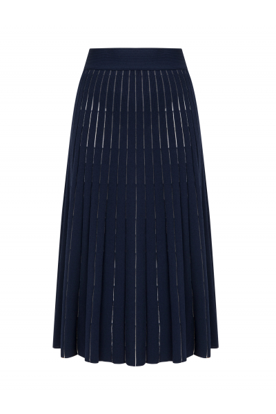 Cellophane Skirt Navy