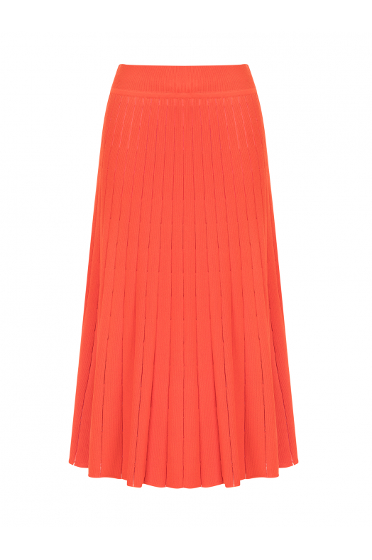 Cellophane Skirt Orange