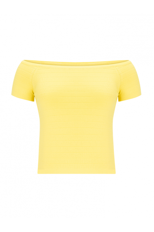 Herve Blouse Yellow