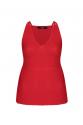 Stitch Blouse Red