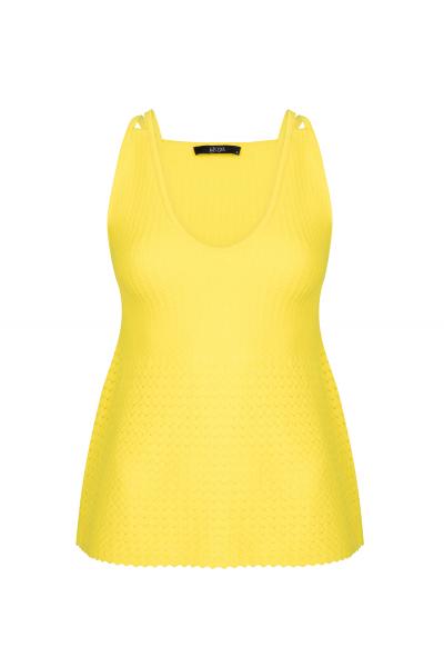 Stitch Blouse Yellow