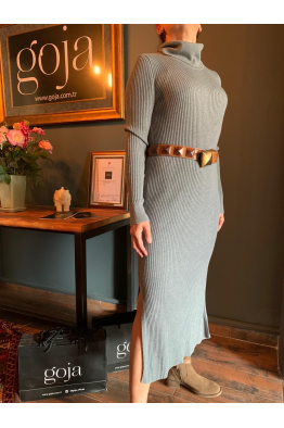 Knit Dress Grey