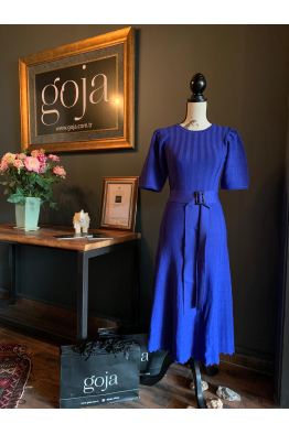 Belted Dress Blue