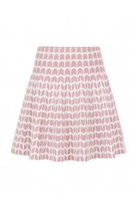 Relief Skirt Pink