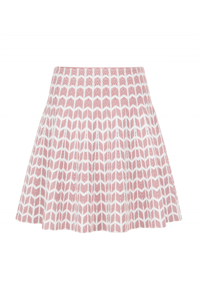 Relief Skirt Pink