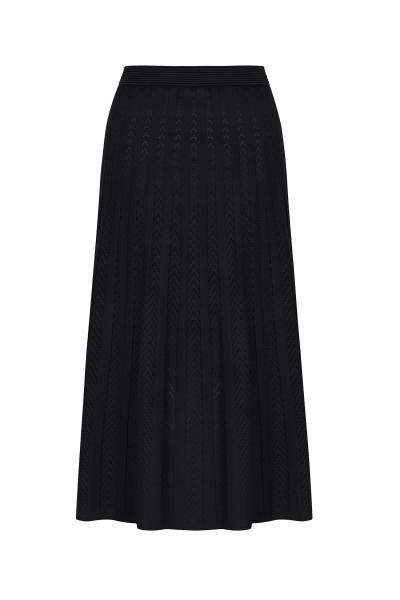 Maxi Stitch Skirt Black