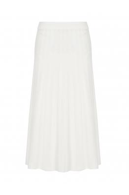 Maxi Stitch Skirt White