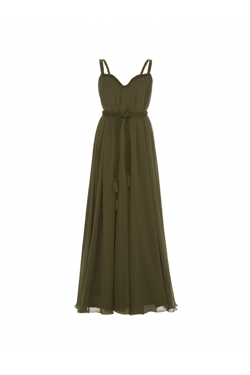 NEW SEASON SS20 GREEN DRESS