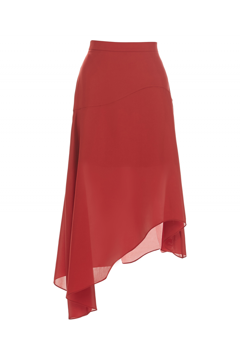 NEW SEASON RED SKIRT