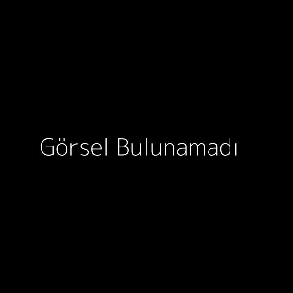 Beyaz Tüylü Kot Ceket