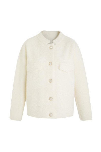 Coat - Iconic - Cashmere Blend - Ecru Coat - Iconic - Cashmere Blend - Ecru