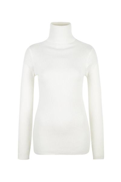 Sweater - Turtle Neck Knit Glitter White- Beige Sweater - Turtle Neck Knit Glitter White- Beige
