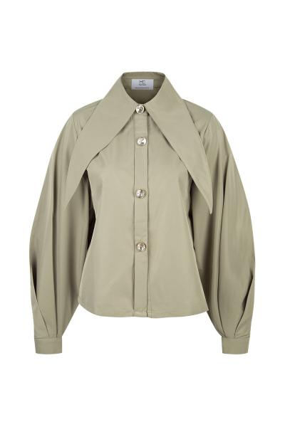 Shirt - Iconic Collar  - Hong Kong Shooting - Khaki - Many Colors On Demand Shirt - Iconic Collar  - Hong Kong Shooting - Khaki - Many Colors On Demand