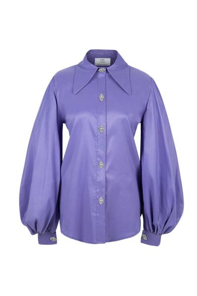 Shirt - Iconic Collar  - Hong Kong Shooting - Lilac- Many Colors On Demand Shirt - Iconic Collar  - Hong Kong Shooting - Lilac- Many Colors On Demand