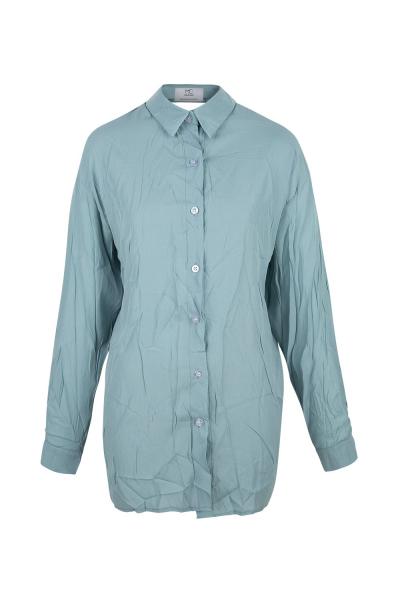 Shirt - Iconic- Open Back - Blue -  Seoul  Photo Shooting -Many Colors On Demand Shirt - Iconic- Open Back - Blue -  Seoul  Photo Shooting -Many Colors On Demand